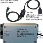 Las cajas soportan todos los adaptadores inalámbricos Alfa USB