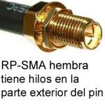 Conector RP-SMA Hembra