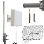 Guías para la compra de antenas de WiFi & soporte técnico. Guías gráficas para todos los tipos de antena, patrones de radiación, omni direccionales y antenas para enlazar puentes de punto a punto.