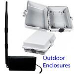 Cajas externas para adaptadores USB WiFi con antena & cable: extienda el alcance ajustando su adaptador inalámbrico en exteriores