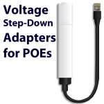 POE voltage step-down