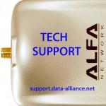 Soporte técnico para los adaptadores Alfa WiFi de USB