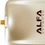 Todos los adaptadores Alfa USB WiFi tienen un conector RP-SMA hembra