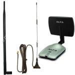 Las actualizaciones de antena pueden incrementar significativamente el alcance del adaptador WiFi USB