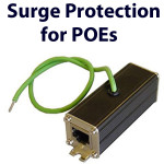 POE surge protection