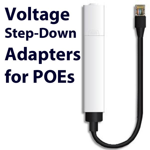 POE voltage step-down
