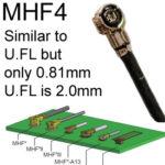 MHF4 conector de antenna